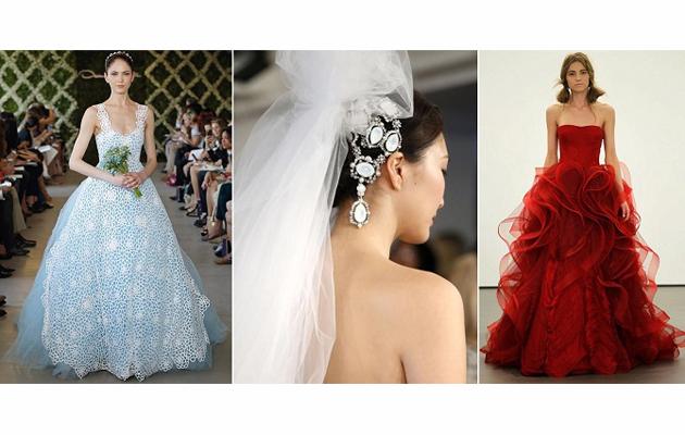 A legfurcsább esküvői ruha trendek 2013-ban 16c6461c0f